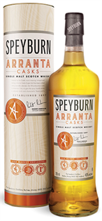 Speyburn Scotch Single Malt Arranta Casks 750ml